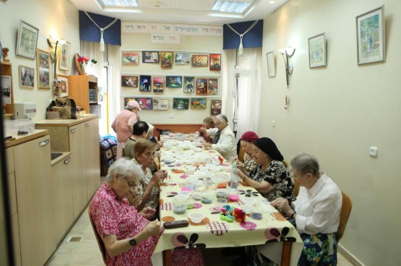 תפריט עשיר בדיור מוגן בירושלים נוה עמית רמת אשכול