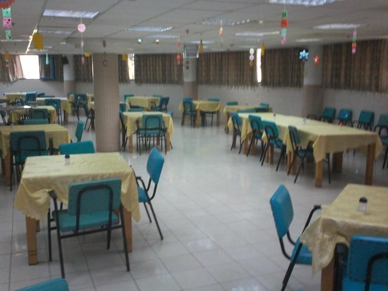 מרכז הורים נהריה - ליליאן. חדר האוכל המרווח והנעים
