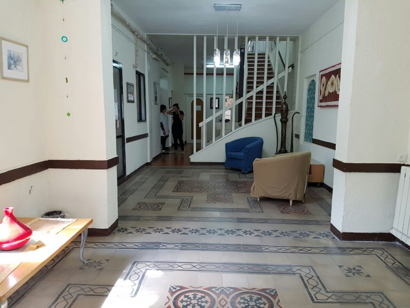 כניסה לבית אבות בחיפה