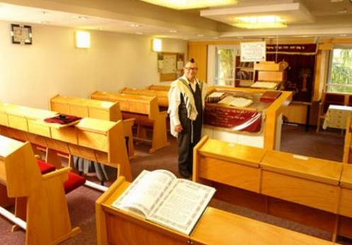 פינות ישיבה במחלקה הסיעודית משען באר שבע
