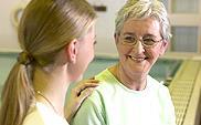 ביקור אישי אצל המטופל