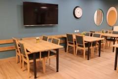 חדר האוכל המרווח והנעים בבית גבריאל