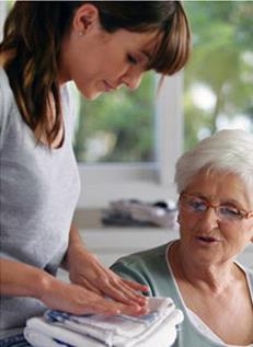 התאמה בין מטפלת לקשיש